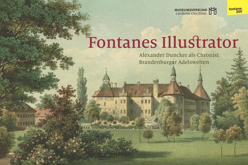 Fontane-Duncker-Ausstellung im Schloß Doberlug eröffnet