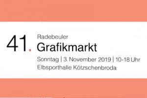 Read more about the article Radebeuler Grafikmarkt 2019