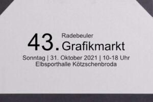 Read more about the article Radebeuler Grafikmarkt 2021